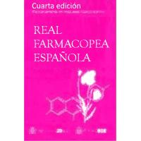 Libro y CD de la Real Farmacopea Española 4º edición